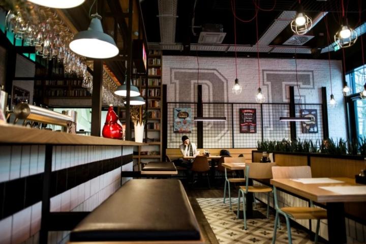Denk fabrik bar restaurant by gruppo decorativo karlsruhe for Design hotel karlsruhe