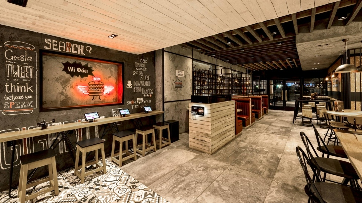187 Goody S Burger House By Chadios Associates Patras Greece