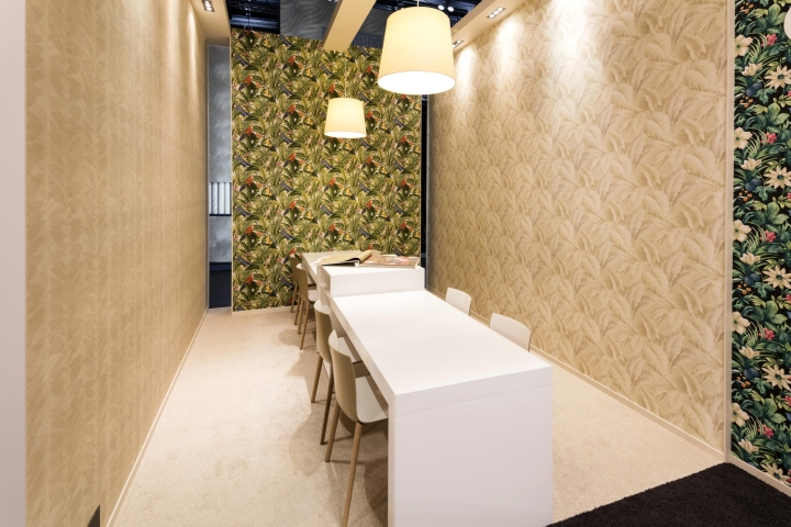 Exhibition Stand Wallpaper : Grandeco exhibition stand by franken frankfurt u2013 germany