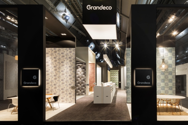 Grandeco Exhibition Stand By Franken Frankfurt Germany