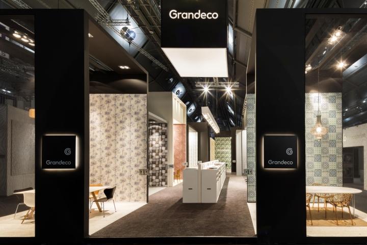 Grandeco exhibition stand by franken frankfurt germany for Design museum frankfurt