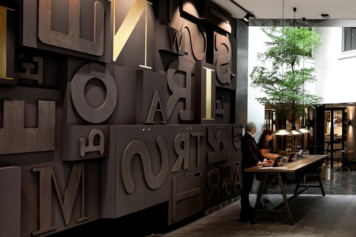 Ink Hotel By Concrete Amsterdam Netherlands Retail