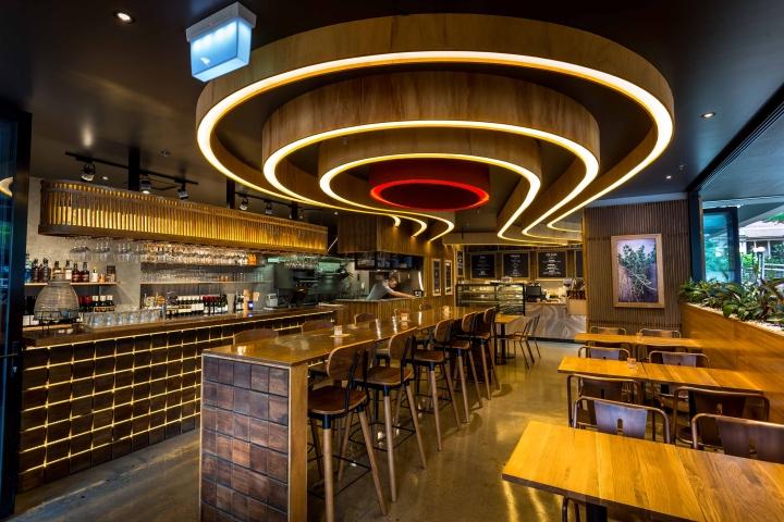 Jabiru bar restaurant by creative brisbane