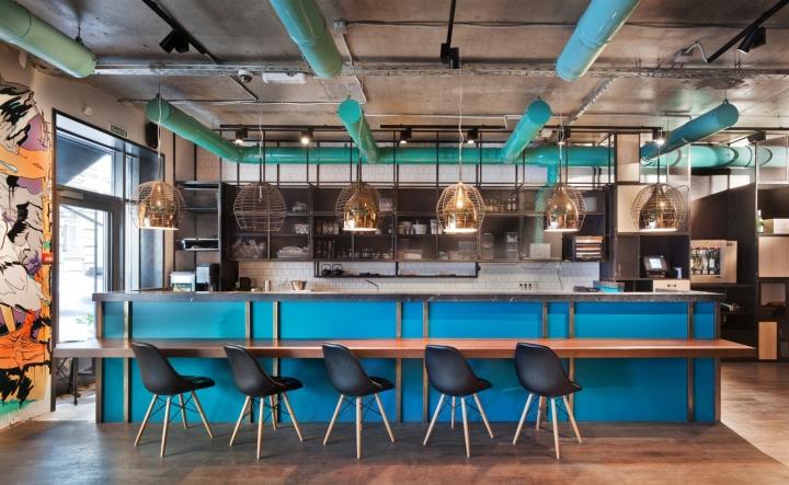 Restaurant Kitchen Bar Design kitchen+bar 15ph.d architectural bureau, moscow – russia