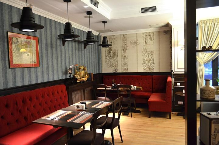La samuelle restaurant by Creativ Interior Studio Bucharest Romania