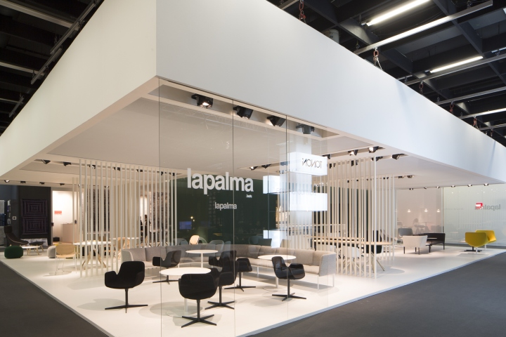 Exhibition Stand Design Italy : Lapalma booth at immcologne cologne italy