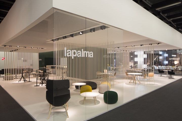 Property Exhibition Booth Design : Lapalma booth at immcologne cologne italy