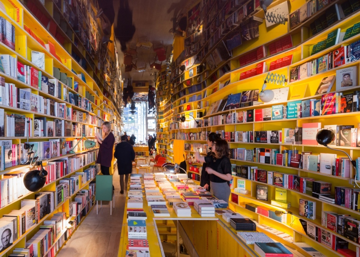 Libreria bookstore by SelgasCano, London – UK
