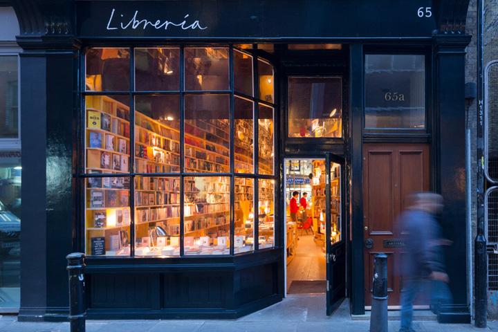 187 Libreria Bookstore By Selgascano London Uk