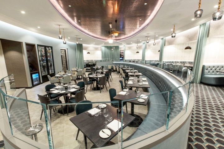187 M Restaurants Victoria By Rene Dekker London Uk