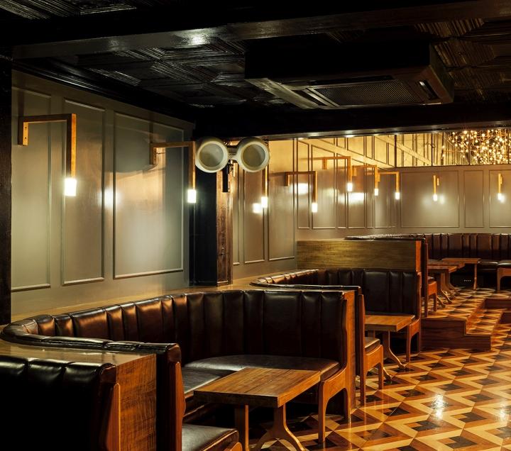Main room bar by em estudio mexico city mexico - Interior leather bar free online ...