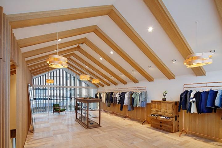 Maison Kitsun 233 Store Tokyo Japan 187 Retail Design Blog