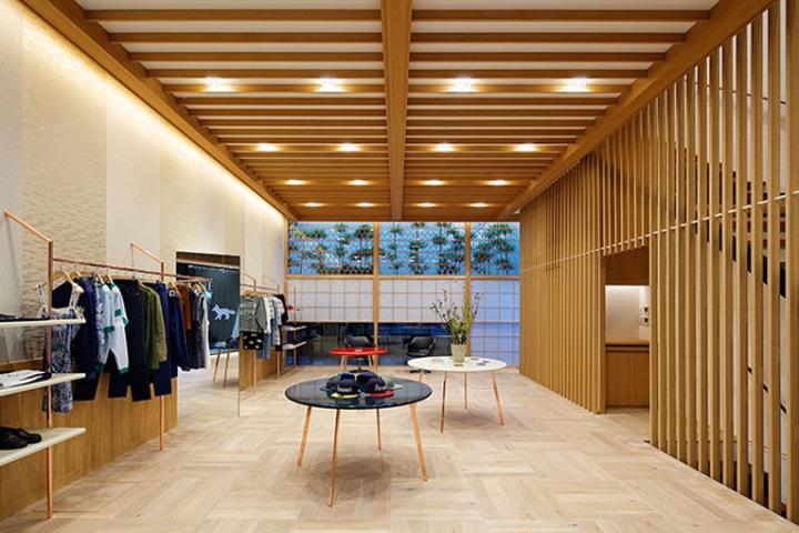 Maison kitsun store tokyo japan retail design blog - Maison disigne ...