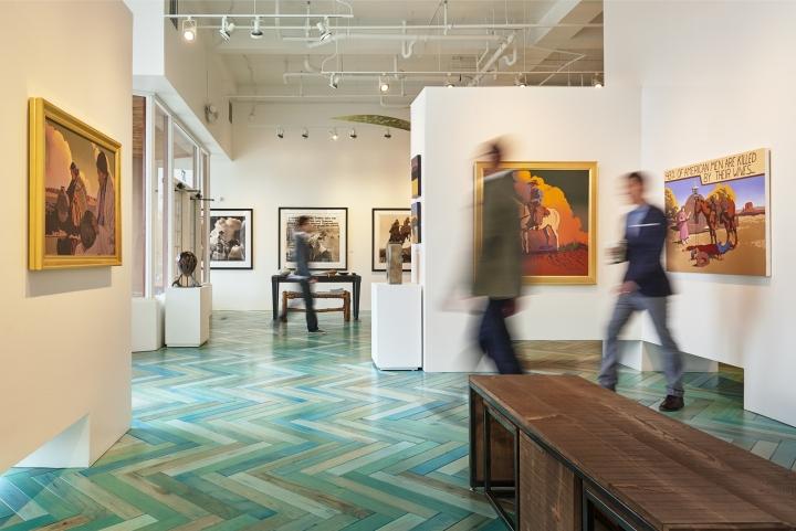 Modern west fine art gallery by wow atelier salt lake for Modern design utah