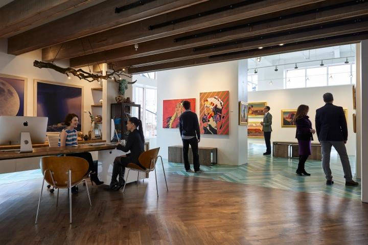Modern West Fine Art Gallery By Wow Atelier Salt Lake