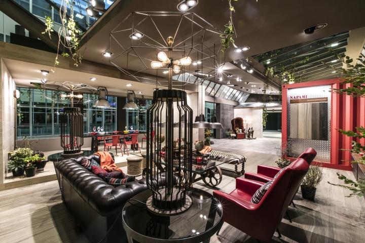 Novoceram fabuloft booth at cersaie 2015 by francesco for Cersaie bologna 2016