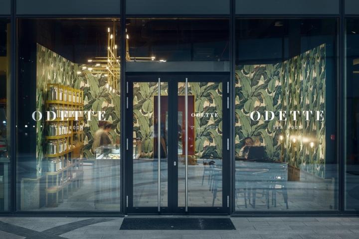 odette tea room by ugo architecture warsaw poland retail design blog. Black Bedroom Furniture Sets. Home Design Ideas
