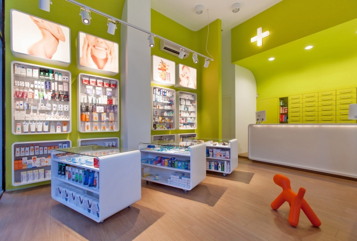 pharmacy p by tzokas architects kalamata greece - Pharmacy Design Ideas