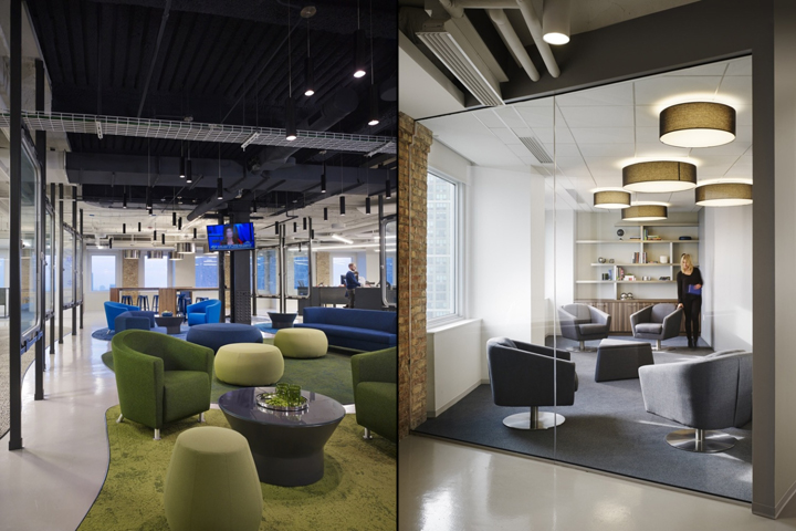187 Prescient Offices By Perkins Will Chicago Illinois