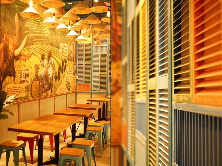 Saigon senses restaurant by span design wollongong for Design hotel vietnam