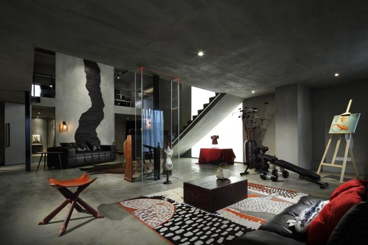 Secret concept design office by archetype design studio for Office design concept