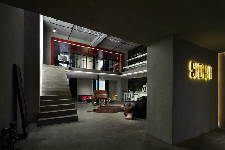 Office Design Studio Japanese Retail Design Blog Secret Concept Design Office By Archetype Design Studio Chengdu China