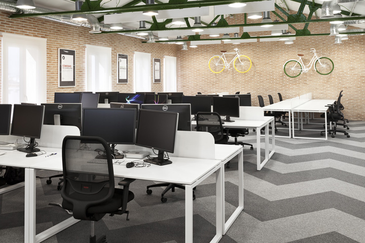 Siteground office space by cache atelier madrid spain - Space madrid ...