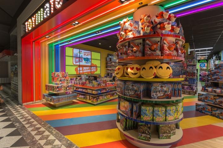 ceiling millwork ideas - Toymate toy store by Creative 9 Sydney – Australia