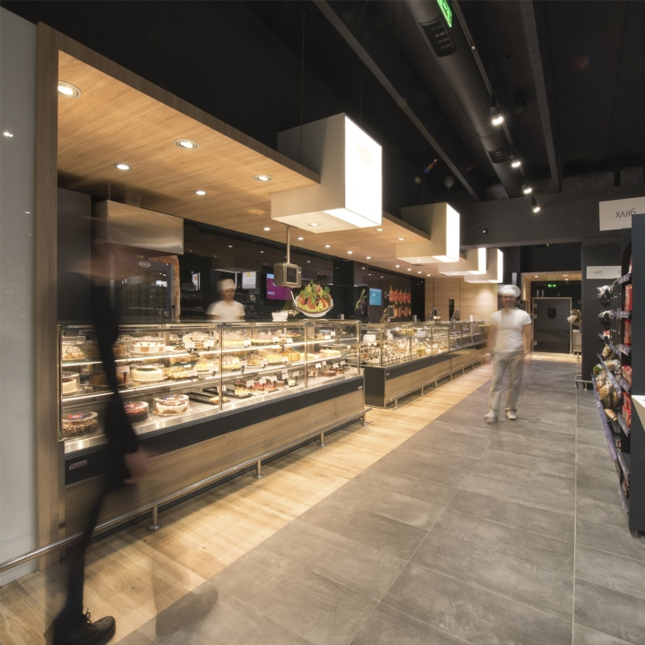 Four Ways To Better Interior Design Installations: » VMV Supermarket By Cityscape Architects, Sofia