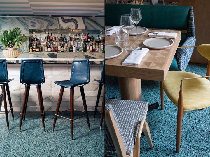 187 Viviane Restaurant At Avalon Hotel By Kelly Wearstler