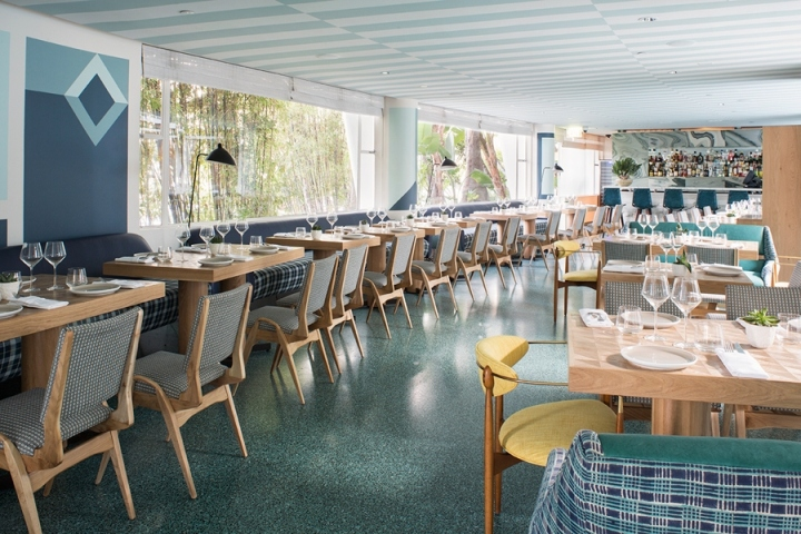 187 Viviane Restaurant At Avalon Hotel By Kelly Wearstler
