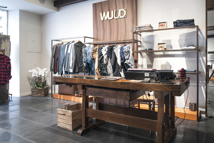 187 Wuud Clothing Store By Ragodesign Faenza Italy
