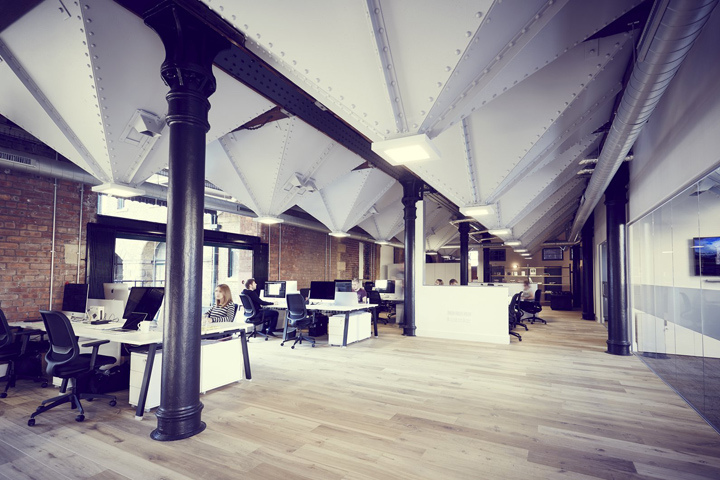 Structural Interiors Has Designed The New Offices Of Branding And Design Agency We Are Located In Sheffield England A Mixology North 2015 Award Winning