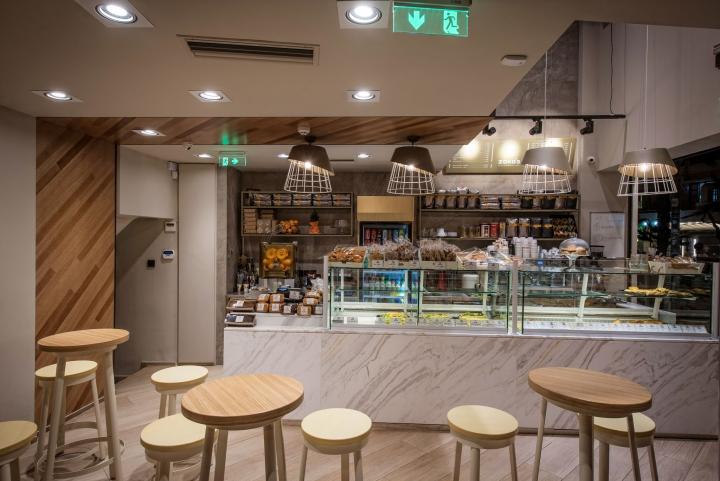 希腊zaka小吃店店面设计