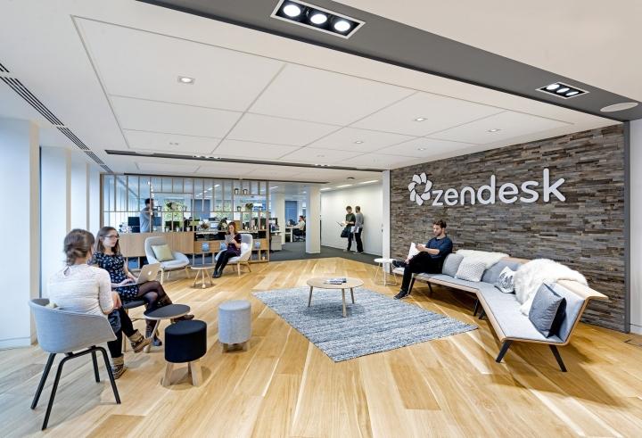 Zendesk office by blitz london uk retail design blog for Office design events