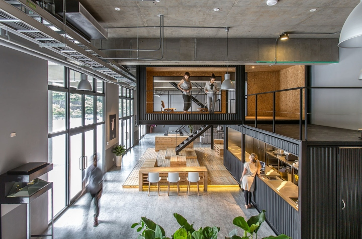 alp logistic office by jc architecture taipei taiwan