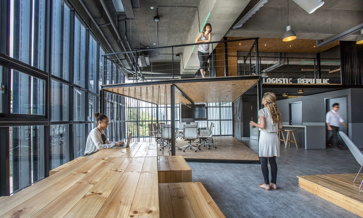 187 Alp Logistic Office By Jc Architecture Taipei Taiwan