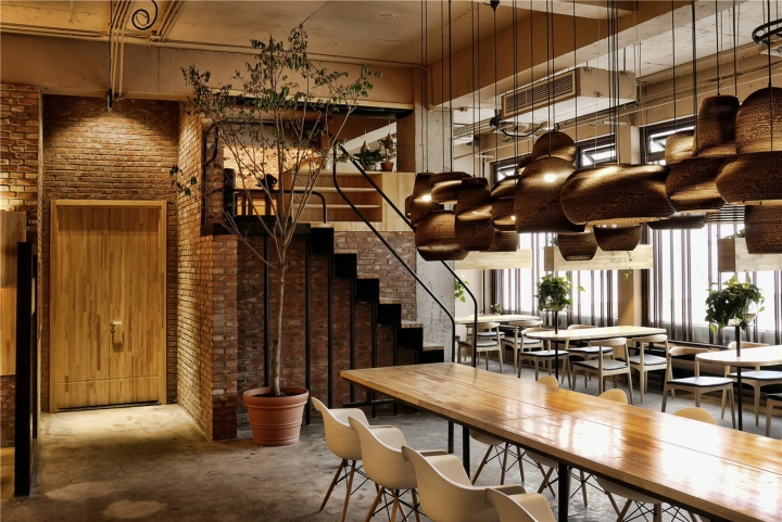 Mezzanine Restaurant Design Interiors