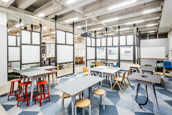 London Studio APA Architects Has Created A Set Of Collaborative Offices For Credit Card Company Barclaycard At Its Headquarters In Northampton England