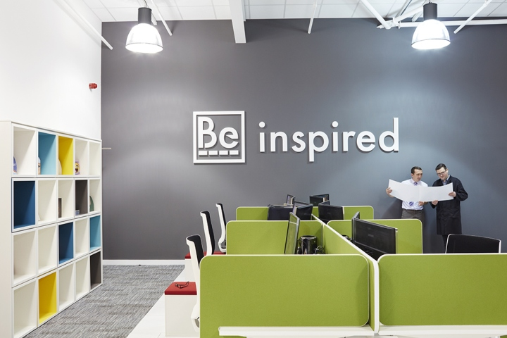 Beatus cartons office by paramount interiors porth uk for Different interior design concepts
