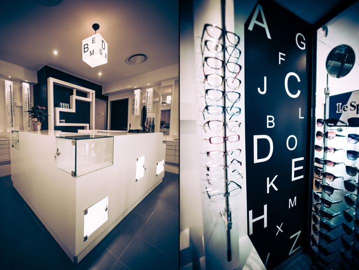 贝克尔眼镜店创意设计