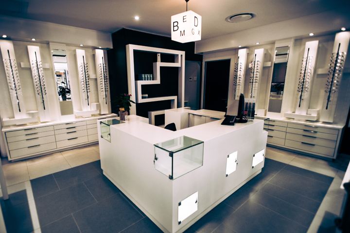 Becker and becker optometrist by creative shop retail shopfitting johannesburg south africa - Unique house interior ideas influenced by various world fashions ...