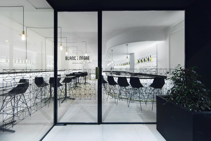 Blanc I Negre Bar Restaurant By Ramón Esteve Estudio, Ontiyent