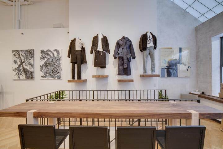 » CARSON STREET Flagship Store By Emporium Design, New