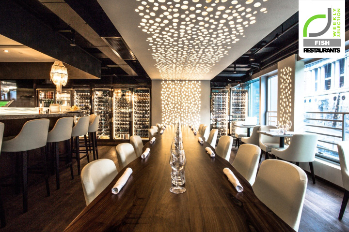 187 Fish Restaurants Cvche Restaurant By Liquid Interiors
