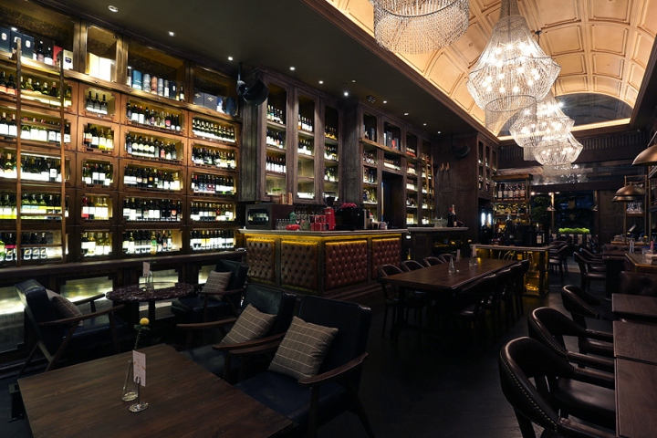 chamber restaurant at pacific place by metaphor interior jakarta