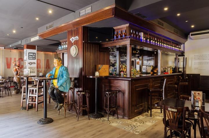 Cheers Malaga Bar By Gana Arquitectura Malaga Spain