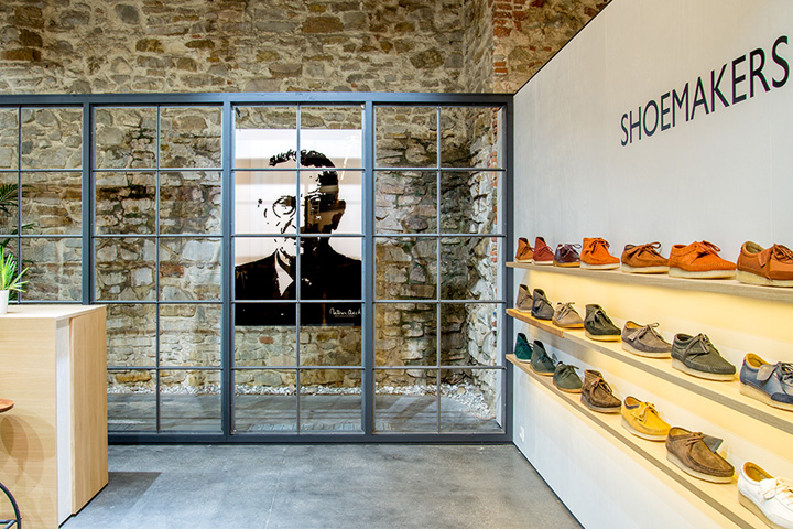 Exhibition Stand Design Pdf : Clarks exhibition stand at pitti uomo by frank agterberg