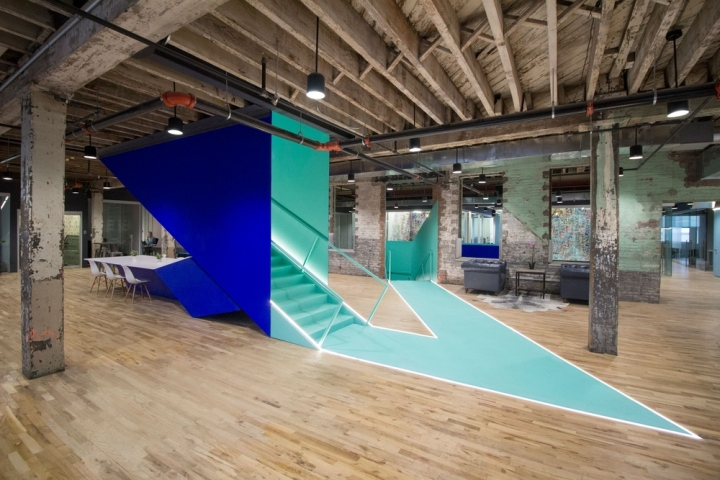 Coworkrs collaborative work space by leeser architecture for New space architects