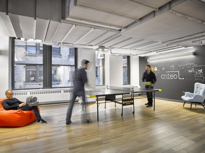 Criteo Office By HGA Architects And Engineers New York City